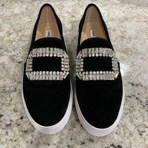 Karl Lagerfeld suede sneaker/loafer